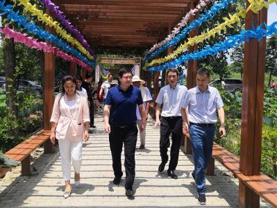 王刚赴乡镇调研乡村振兴和精准扶贫工作