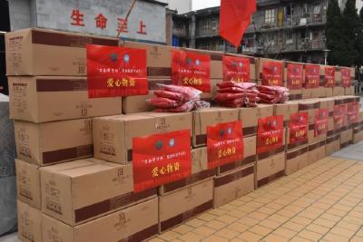 江苏爱心企业向我市捐赠100余万元防疫物资