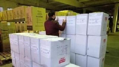 南通市第一人民医院送来1000件防护服