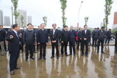 李乐成来冶调研一季度投资和重大项目建设工作