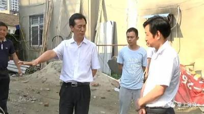郭志泉检查督办城市重点工程建设和控违拆违工作