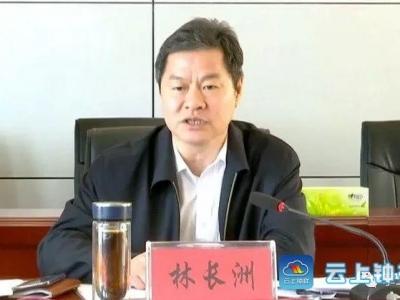林长洲要求:严守政策法规 高标准做好村级换届工作