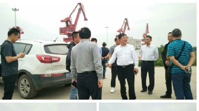 钟祥市交通运输局考察学习荆州市非法码头治理等工作经验