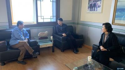 钟祥市人民法院组织工作人员走访调研企业发展情况