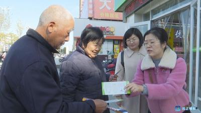 用药安全月,钟祥市市场监督管理局进社区开展现场咨询活动