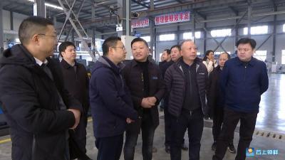 厦门弘信电子考察钟祥投资环境
