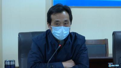 郭志泉要求:群防群控    坚决打赢乡镇疫情防控阻击战