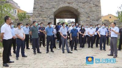 南漳县考察团考察钟祥美丽乡村建设和全域旅游工作