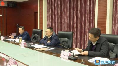何平强调 壮龙头 延链条 打造中国长寿食品生产基地