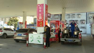 钟祥市市场监管局对加油机进行强制检定