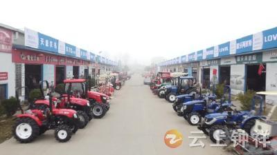 3000台套新型农机投放市场 钟祥市助力春耕农机储备足