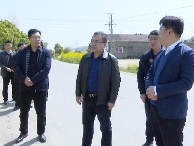 周军在钟祥市胡集化工园区调研精细化工产业发展和用地情况