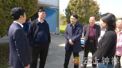 邵祖江调研钟祥包联企业和重点项目工程