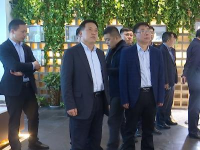 江苏省泗阳县来钟祥市考察交流