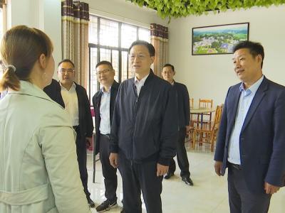 王祺扬在钟祥调研时强调 大力发展特色产业 持续推进乡村振兴