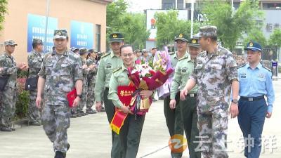 省级优秀征兵政策宣讲员王磷春载誉归来!