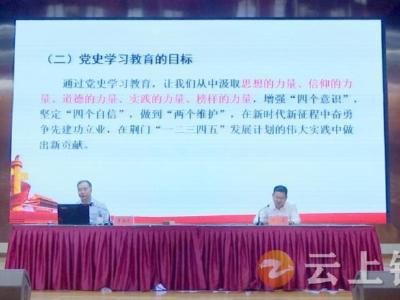 党史学习教育荆门市委宣讲团钟祥宣讲报告会举行