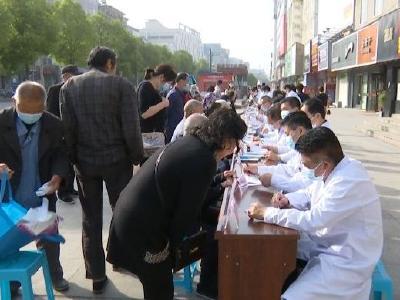 """钟祥市人民医院开展""""普爱风采 助力健康""""大型义诊活动"""