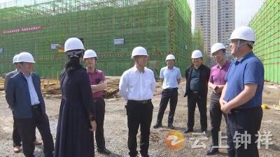 何平调研督办全市重点项目重点企业建设和运行情况