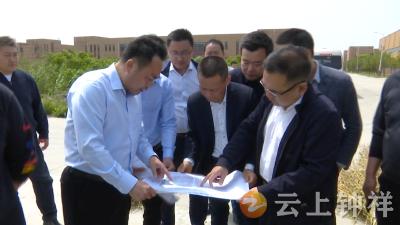 上海金塔医疗器械有限公司考察钟祥投资环境