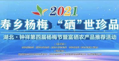 """寿乡杨梅 """"硒""""世珍品——2021湖北·钟祥杨梅节暨富硒农产品推介"""