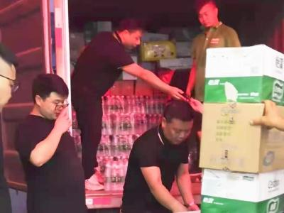 赞!钟祥市爱心企业捐赠物资驰援河南灾区