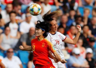 中国女足逼平西班牙队晋级16强,祝贺女足姑娘们!