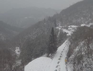 我县迎来新一轮降雪天气