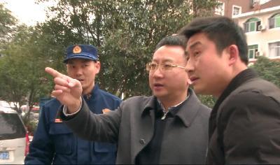 县长曹宏伟检查全县安全生产工作