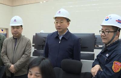 县长曹宏伟带队检查全县危化行业安全生产工作