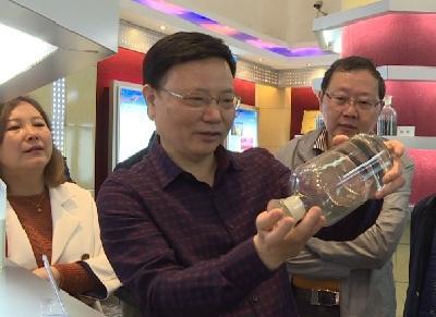 三峡大学副校长黄应平来我县调研政校企科技创新工作
