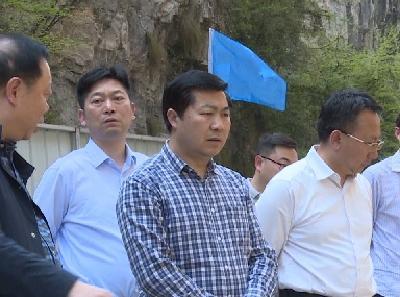 市人大常委会副主任孔福生调研我县生态环境保护工作
