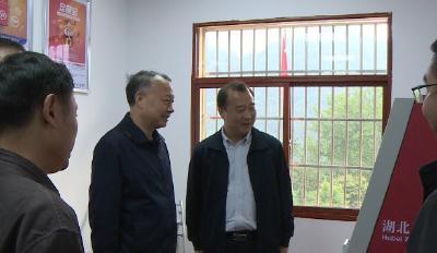 市委常委、统战部长王均成来我县调研县域经济社会发展情况