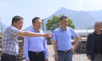 县长曹宏伟检查全县污水垃圾处理设施建设情况