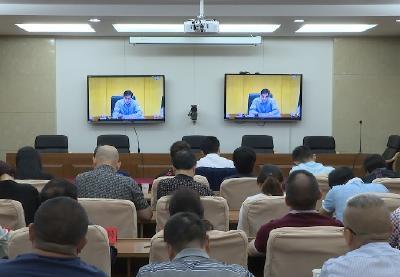 全国召开部署推进职业技能提升行动电视电话会