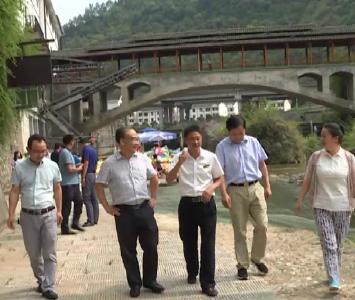 阳新县党政代表团考察学习我县文旅项目建设