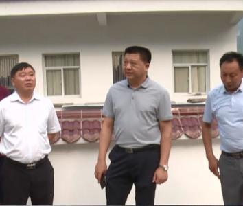 市应急管理局局长冯正宏来我县检查指导抗旱防灾工作