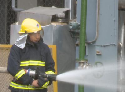 2019年度危险化学品事故应急救援综合演练在白沙河化工厂开展