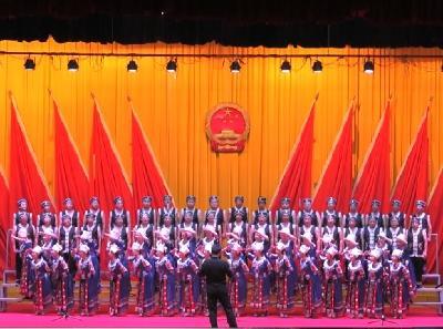 我县庆祝新中国成立70周年歌咏比赛晋级赛圆满结束