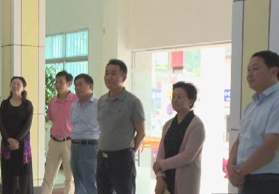 省政协教科卫体委员会调研组到我县调研医养产业发展情况