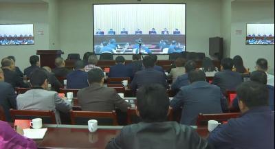 """湖北省召开电视电话会议启动影响群众健康""""323""""攻坚行动"""