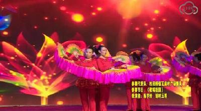 沙洋县社会主义核心价值观广场舞大赛(拾回桥镇瓦庙村广场舞队)
