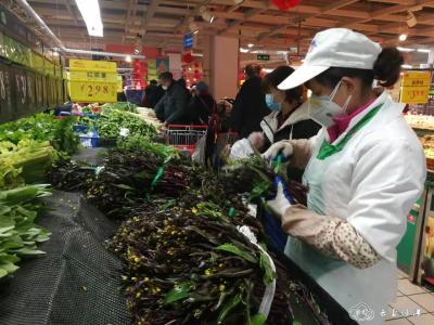 全力保障居民生活物资供应——记中百仓储沙洋店