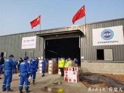 瞒着老母亲只身赴汉,每天搭帐篷住在仓库,一个荆门志愿者的武汉9日