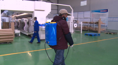 湖北佳悦新材料科技有限公司:防疫生产两不误