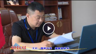 王红:履职尽责 展委员风采