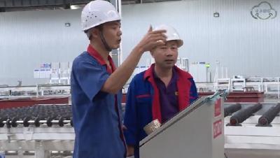 沙洋:提档升级玻璃产业  抢占行业高端市场