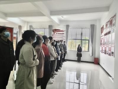 沙洋县司法局:参观沙洋革命建设展 砥砺初心 牢记使命