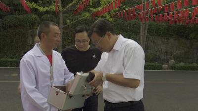 V视丨卢辉:履职尽责确保国庆节期间安全稳定