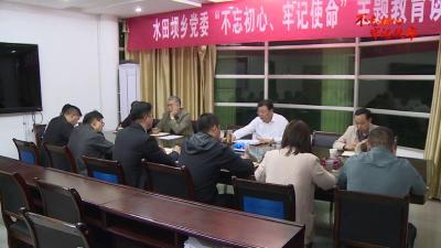 V视丨卢辉赴部分乡镇调研指导主题教育工作